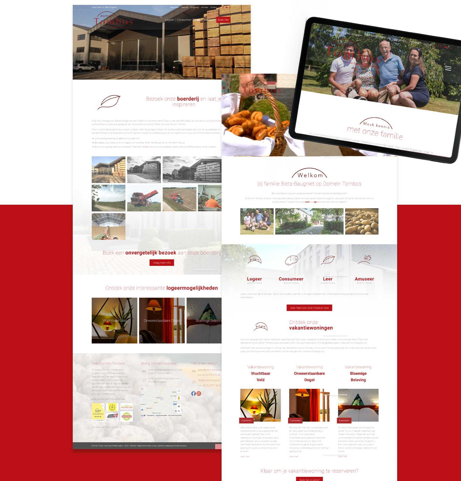 Website Domein Tombos