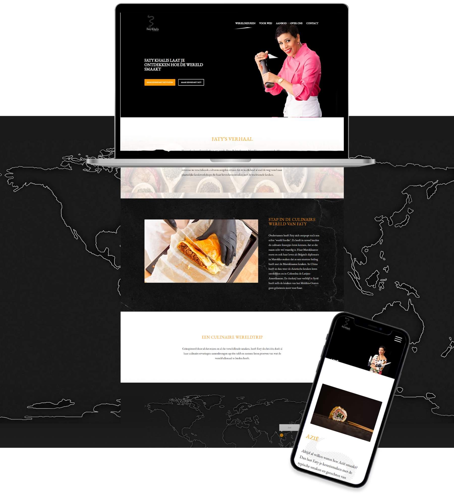 Website Faty Khalis