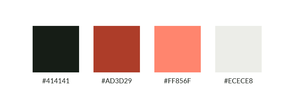 Bernard Derveaux huisstijlkleuren
