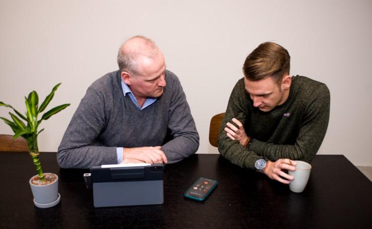 we are connected - trainingen - Dirk en Frederick